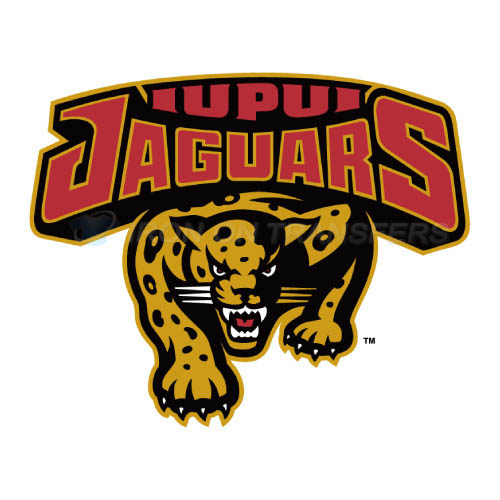 IUPUI Jaguars Iron-on Stickers (Heat Transfers)NO.4674